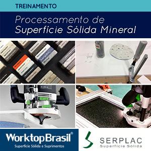 Treinamento de Processamento de Superfície Sólida Mineral