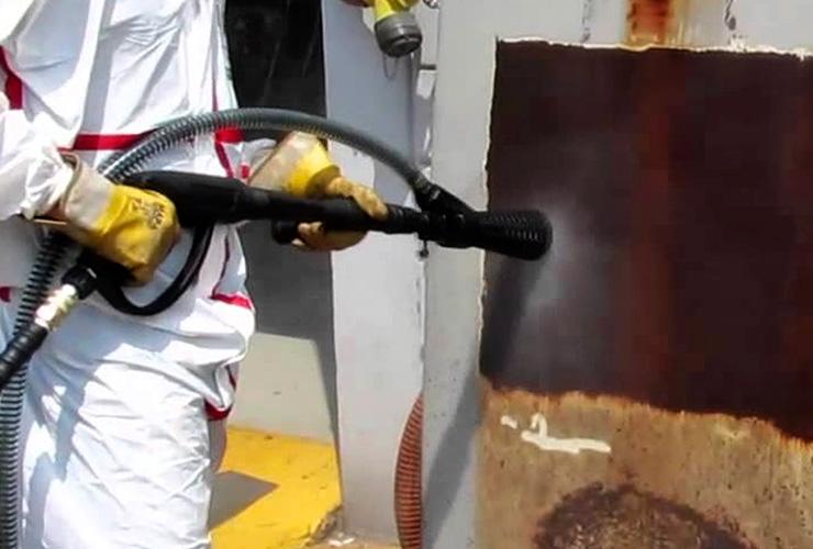 Hidrojateamento para limpeza e preparo de superfície