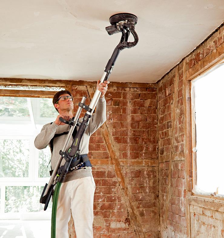 Lixadeira de parede e teto – Festool Planex LHS 225