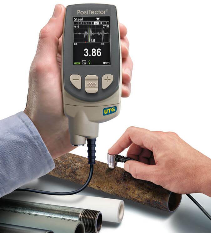 Medidor de Espessura de Aço – PosiTector UTC